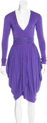 Twin.Set Pleated Midi Dress $65 thestylecure.com