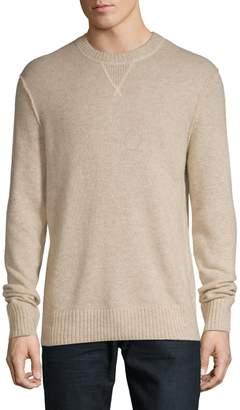 Black Brown 1826 Crew Neck Wool-Blend Sweater