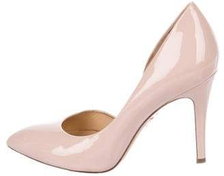 Charlotte Olympia Patent Pointed-Toe Pumps