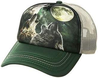 The Mountain Men's Three Wolf Moon Foam Trucker Hat