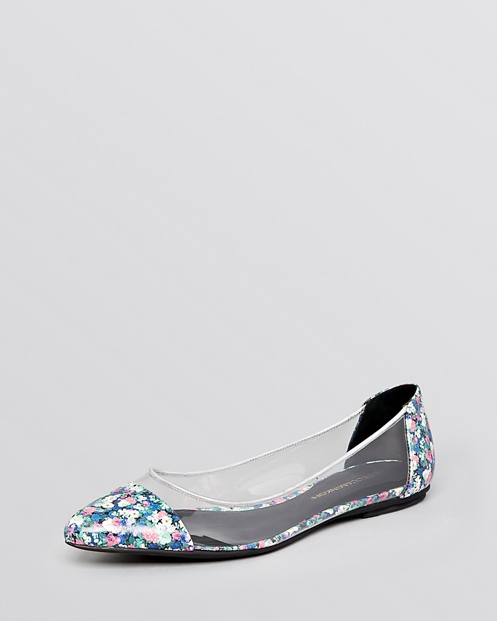 Rebecca Minkoff Pointed Toe Flats - Isadora