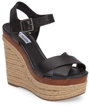 Women's Steve Madden Paso Espadrille Wedge Sandal $99.95 thestylecure.com