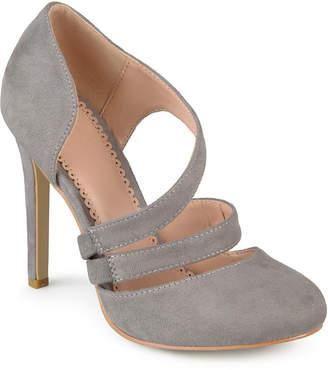 Journee Collection Zeera Womens Pumps Slip-on Round Toe Stiletto Heel