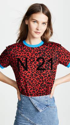No.21 No. 21 Leopard No. 21 Tshirt