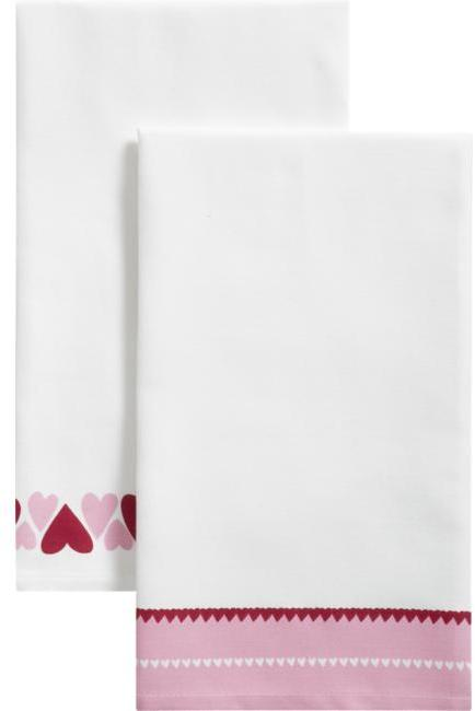 Valentine's Dishtowels Set of Two