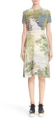 Women's Stella Mccartney Landscape Print Dress $1,095 thestylecure.com