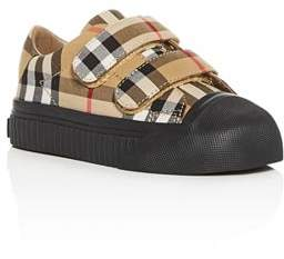 Burberry Girls' Vintage Check Sneakers - Walker, Toddler