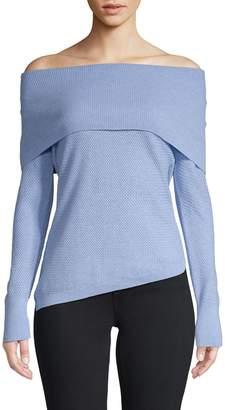 Raffi Off-The-Shoulder Knit Sweater