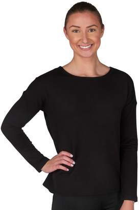 Jockey Women's Sport Flux Split Back Lounge Top