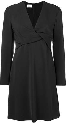 Dondup wrap mini dress