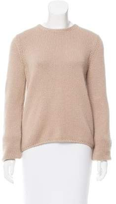 Calvin Klein Collection Crew Neck Knit Sweater