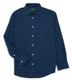 Lauren Ralph Lauren Boy's Plaid Button-Down Shirt
