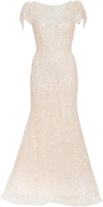 Rodarte Hand-Beaded Sequin Dress Size: 2