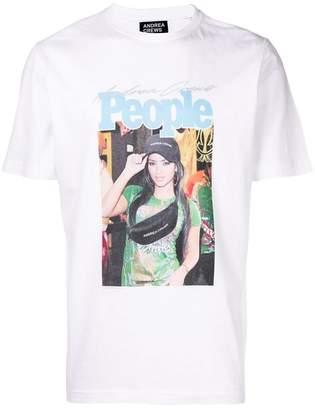 Andrea Crews printed T-shirt