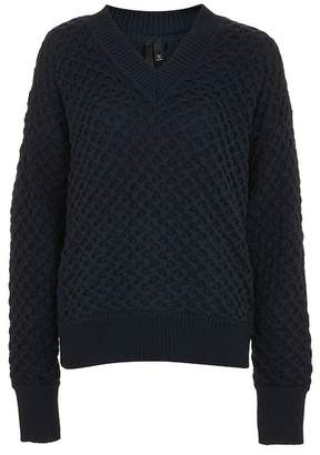 Topshop Bubble Knit Sweater