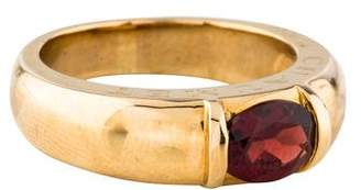 Chaumet 18K Garnet Ring
