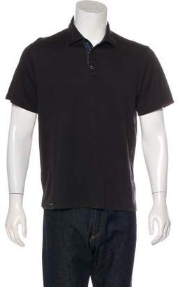 Michael Kors Knit Polo Shirt