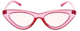 Le Specs The Last Lolita Cat-Eye Sunglasses w/ Tags