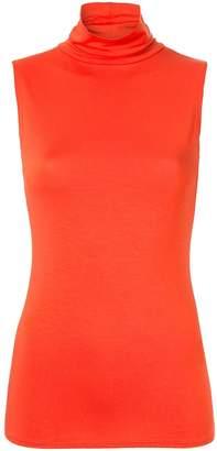 LAYEUR sleeveless mock neck tank