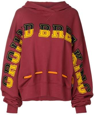 House of Holland Ground Breaking oversize hoodie