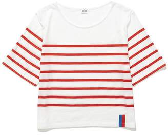 Kule The Crop Stripe Tee