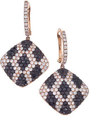 Sabrina Designs 14K Rose Gold 4.29 Ct. Tw. Diamond Drop Earrings
