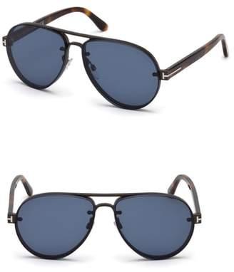 fe2f26c494f96 ... Tom Ford Alexei 62mm Oversize Aviator Sunglasses