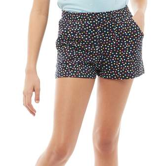 Board Angels Girls AOP Jersey Shorts Navy/Multi
