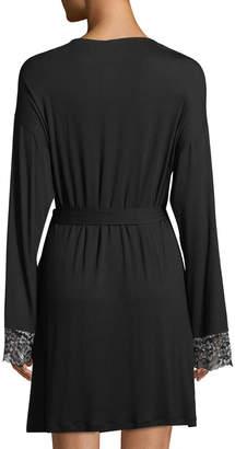 Cosabella Pret-a-Porter Lace-Trim Short Robe
