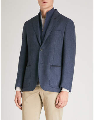 Corneliani Regular-fit wool suit jacket