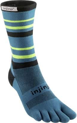 Coolmax Injinji Run Lightweight Crew Socks