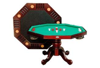 Pool' Berner Billiards Octagon 4.3' Game Table
