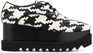 Stella McCartney lace-up platform shoes