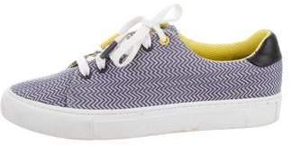 Tory Burch Printed Low-Top Sneakers