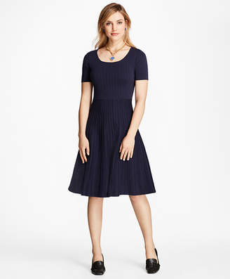 Brooks Brothers Jacquard Knit Dress