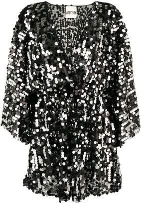 Aniye By sequin short dress