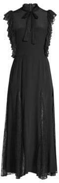 Alexis Sterling Ruffle Sleeve Midi Dress