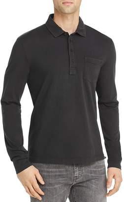 Billy Reid Pensacola Long-Sleeve Regular Fit Polo Shirt