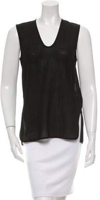 Zero Maria Cornejo Scoop Neck Sleeveless Top w/ Tags