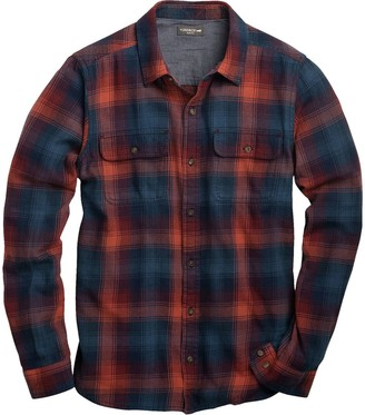 Toad&Co Indigo Flannel Slim Long-Sleeve Shirt - Men's