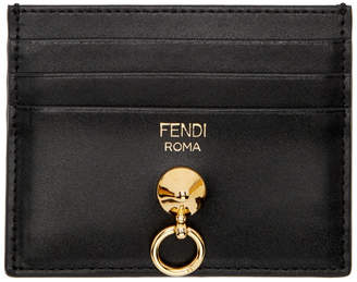 Fendi Black By The Way Ring Cardholder