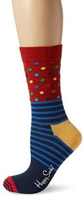 Happy Socks Women's Stripes & Dots,(Size: 36-40)