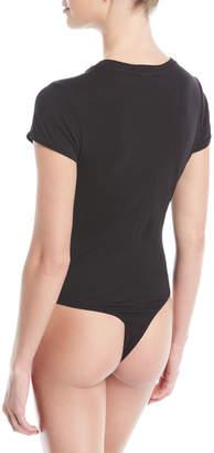 RE/DONE Slim Crewneck Tee Bodysuit