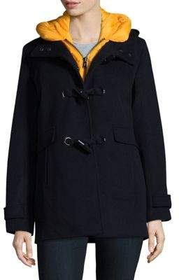 Pendleton Hooded Toggle Coat and Puffer Vest