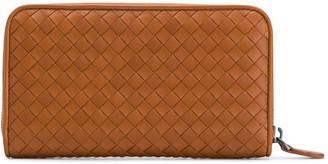 Bottega Veneta classic zip-around wallet