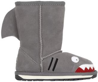 Emu Shark Suede & Merino Wool Boots
