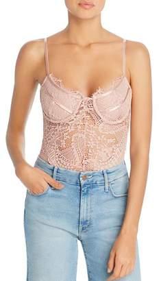 Bardot Britney Lace & Mesh Bodysuit - 100% Exclusive