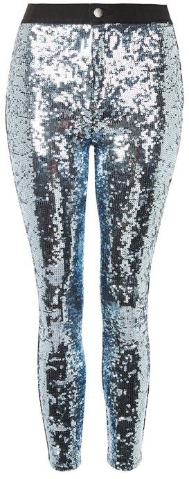 TopshopTopshop Moto disco sequin joni jeans