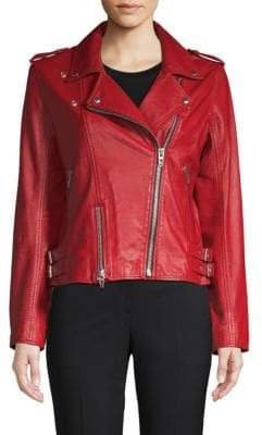 Blank NYC Old Flame Leather Moto Jacket