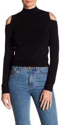 360 Cashmere Nami Cold Shoulder Sweater $288 thestylecure.com